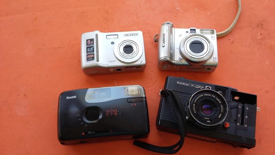 5 Ideas con cámaras de fotos antiguas. RECICLADO + 100.000Suscriptores