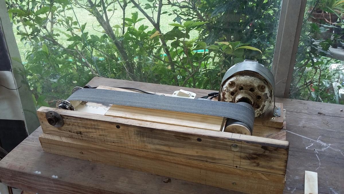 Como hacer una lijadora de banda casera diy espacio de cesar - Lijadora para madera ...